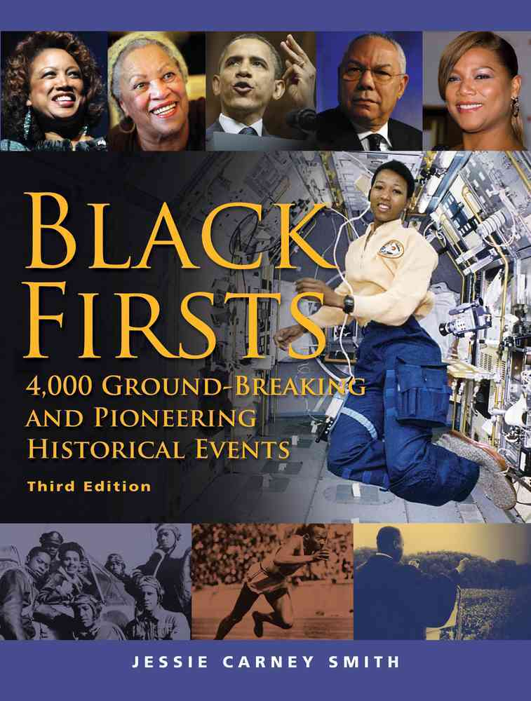 Black Firsts By Smith, Jessie Carney